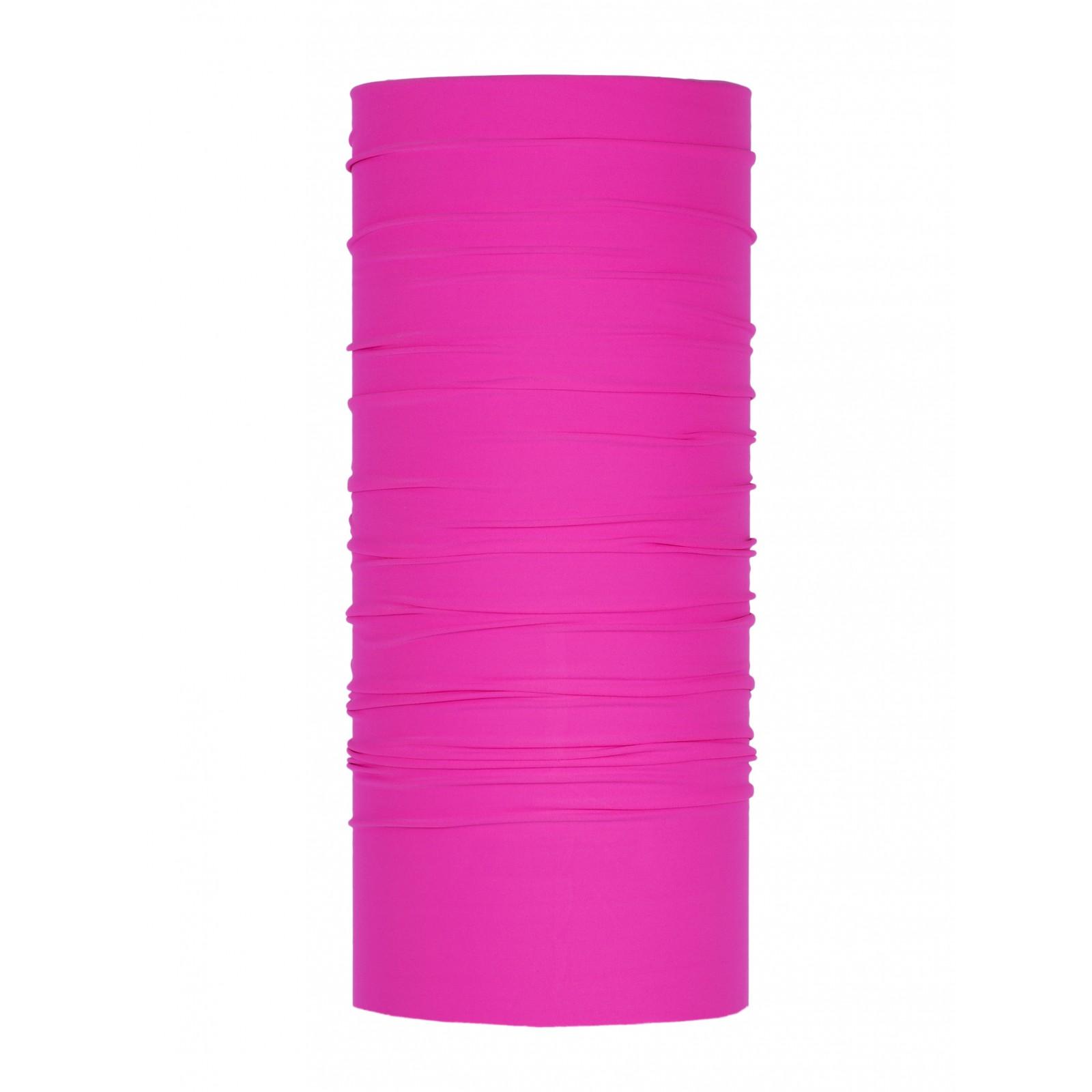 Bandana Media Tinta Unita - colore fuxia