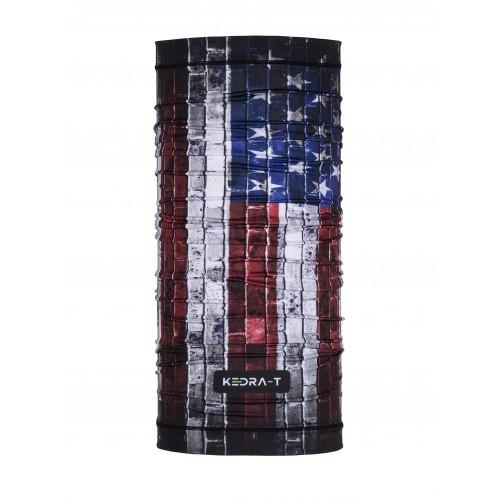 Bandana Media USA flag