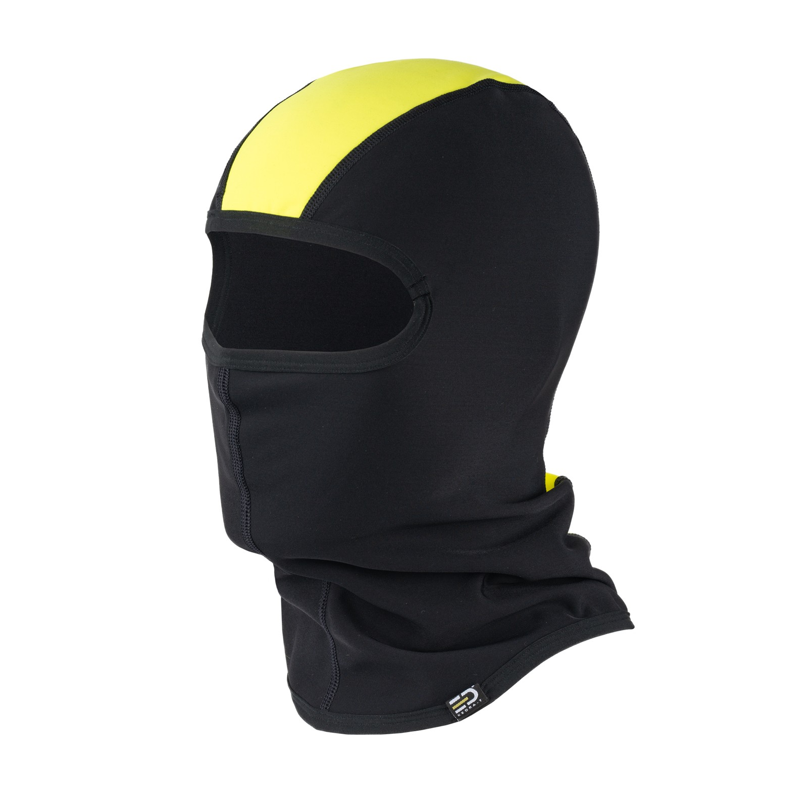 Helmet Liner Technical Fleece Black&Yellow Fluo