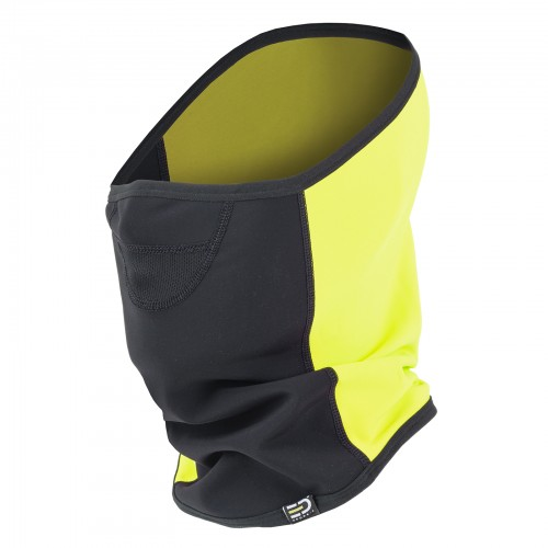 Scaldacollo Maschera Breathless Wind&Rain Proof Giallo Fluo