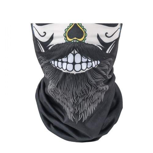 Bandana Bearded Skull
