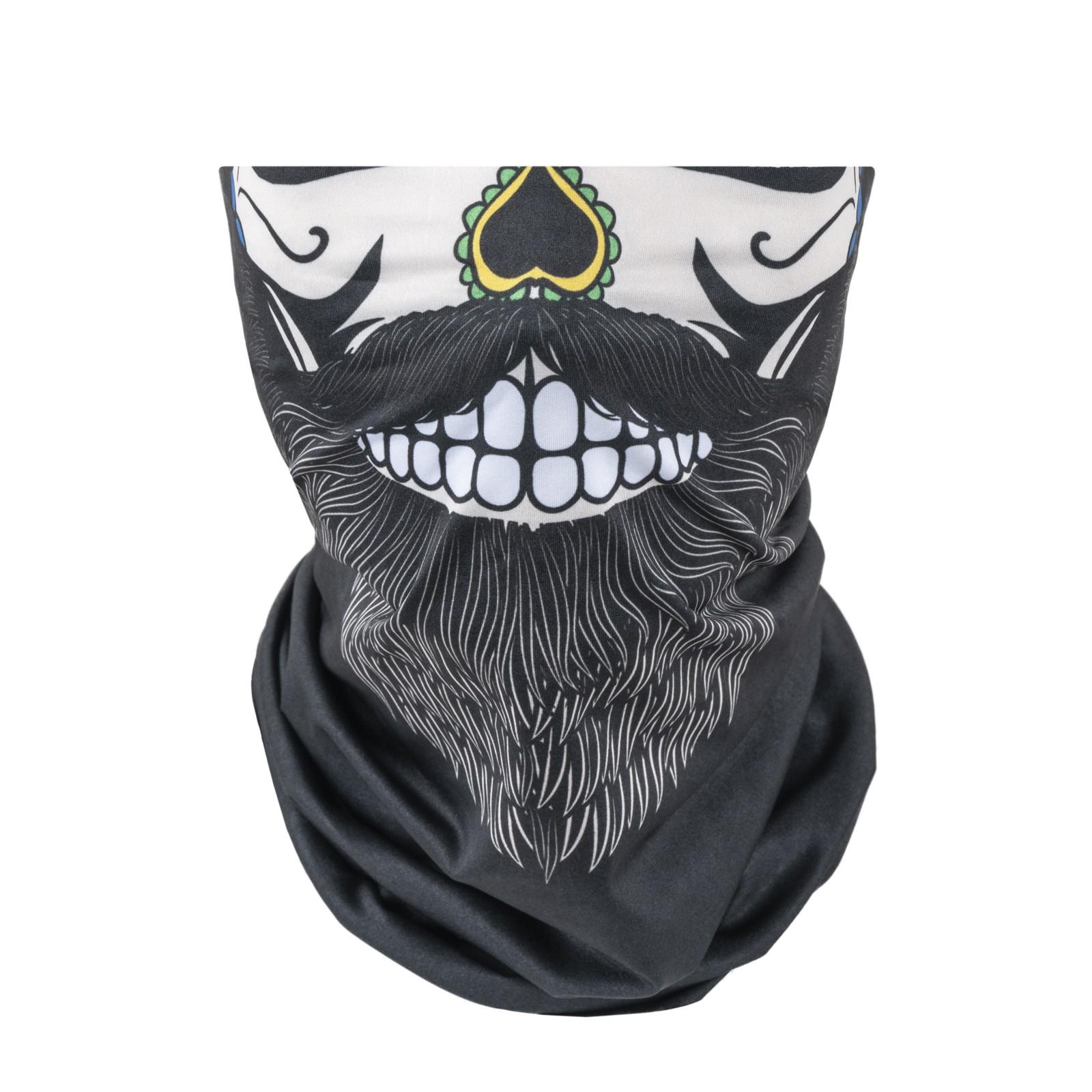 Bandana Bearded Skull