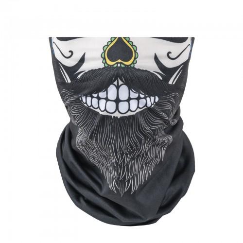 Bandana Pesante Bearded Skull