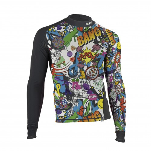 Shirt in Technical Fleece and Polypropilene - Comics MEN SIZE