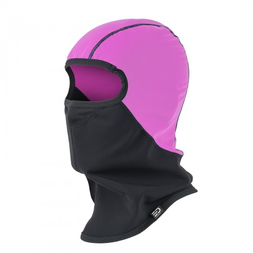 Helmet Liner Technical Fleece Wind&Rain Proof Yellow Fluo