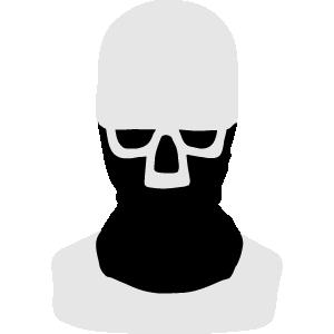 Face and skull Bandana and Balaclava